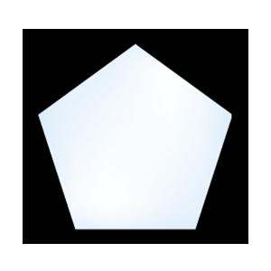 5500 geometric pentagon