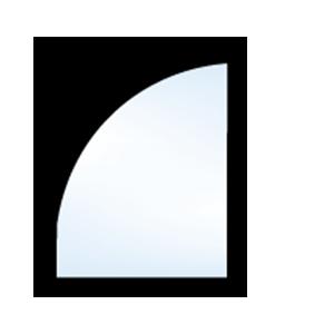 5500 geometric quarter round with leg