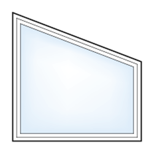 5500 geometric trapezoid window
