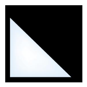 5500 geometric triangle window