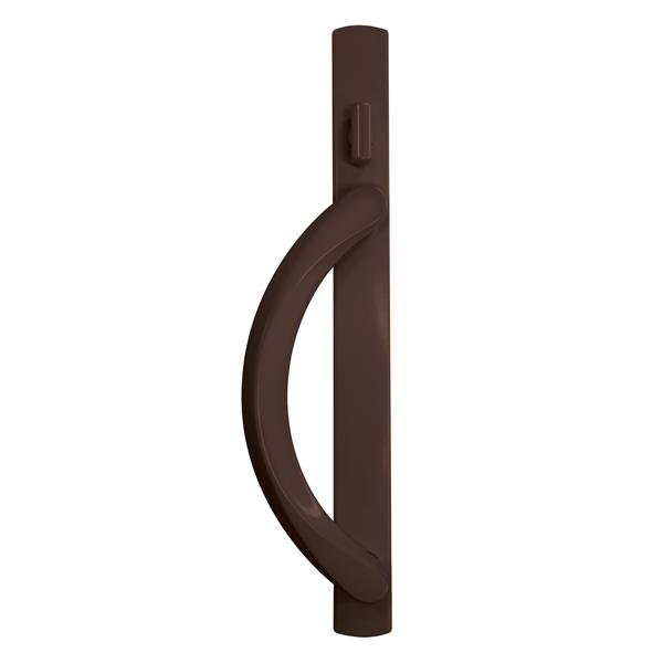 5500 patio door premium handles dark bronze