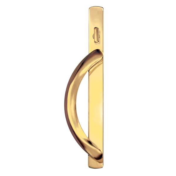 5500 patio door premium handles polished brass