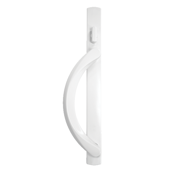 5500 patio door premium handles white
