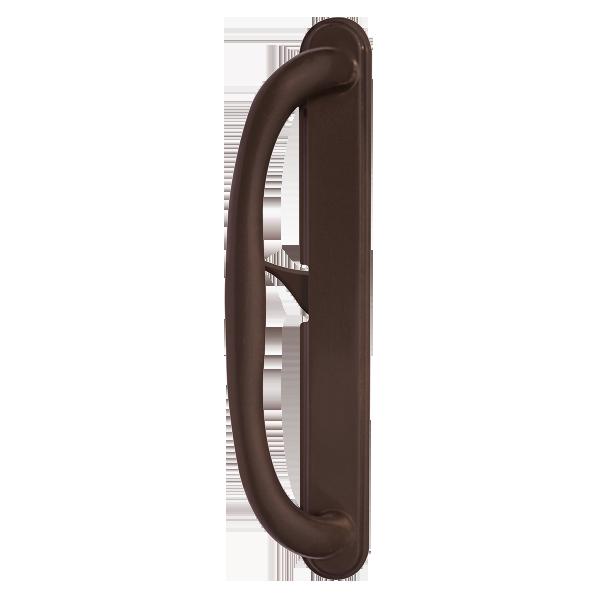 5500 patio door standard handles dark bronze