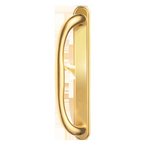 5500 patio door standard handles polished brass