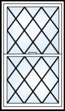 asure grid pattern diamond flatonly