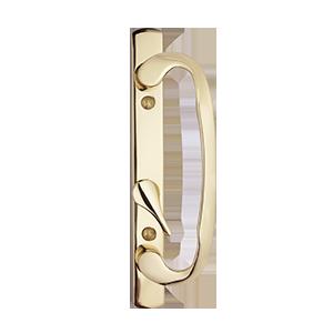 asure hardware doorhandles brass