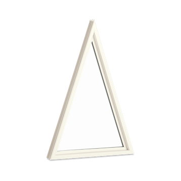 marvin essential specialty shape triangle interior stone white