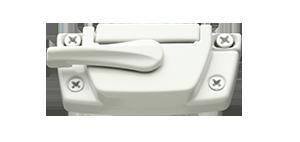 profinish builder hardware camlocks white