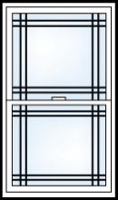 reflections 5500 grid pattern dbl prairie